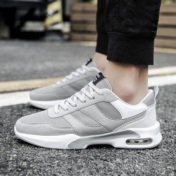 New Men Spring Breathable Cool Lightweight Casual Sports Shoes - GRAY GOOSE 42