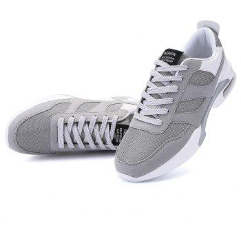 New Men Spring Breathable Cool Lightweight Casual Sports Shoes - GRAY GOOSE 44