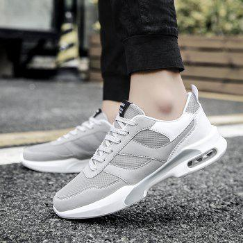 New Men Spring Breathable Cool Lightweight Casual Sports Shoes - GRAY GOOSE 41