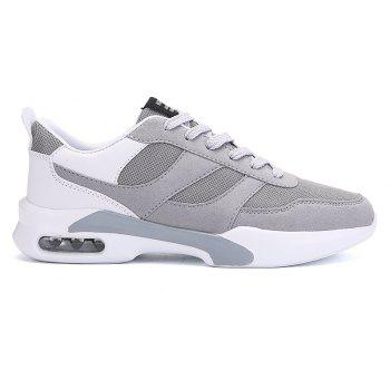 New Men Spring Breathable Cool Lightweight Casual Sports Shoes - GRAY GOOSE 43