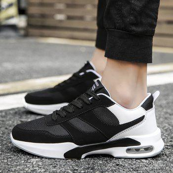 New Men Spring Breathable Cool Lightweight Casual Sports Shoes - BLACK 40