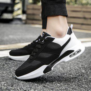 New Men Spring Breathable Cool Lightweight Casual Sports Shoes - BLACK 39