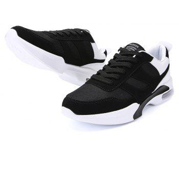 New Men Spring Breathable Cool Lightweight Casual Sports Shoes - BLACK 41