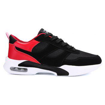 New Men Spring Breathable Cool Lightweight Casual Sports Shoes - LAVA RED 40