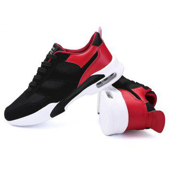 New Men Spring Breathable Cool Lightweight Casual Sports Shoes - LAVA RED 43
