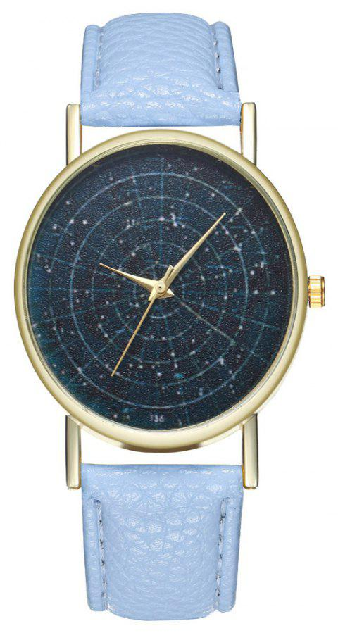 Zhou Lianfa Brand Astrology Male and Female Watch - LIGHT BLUE