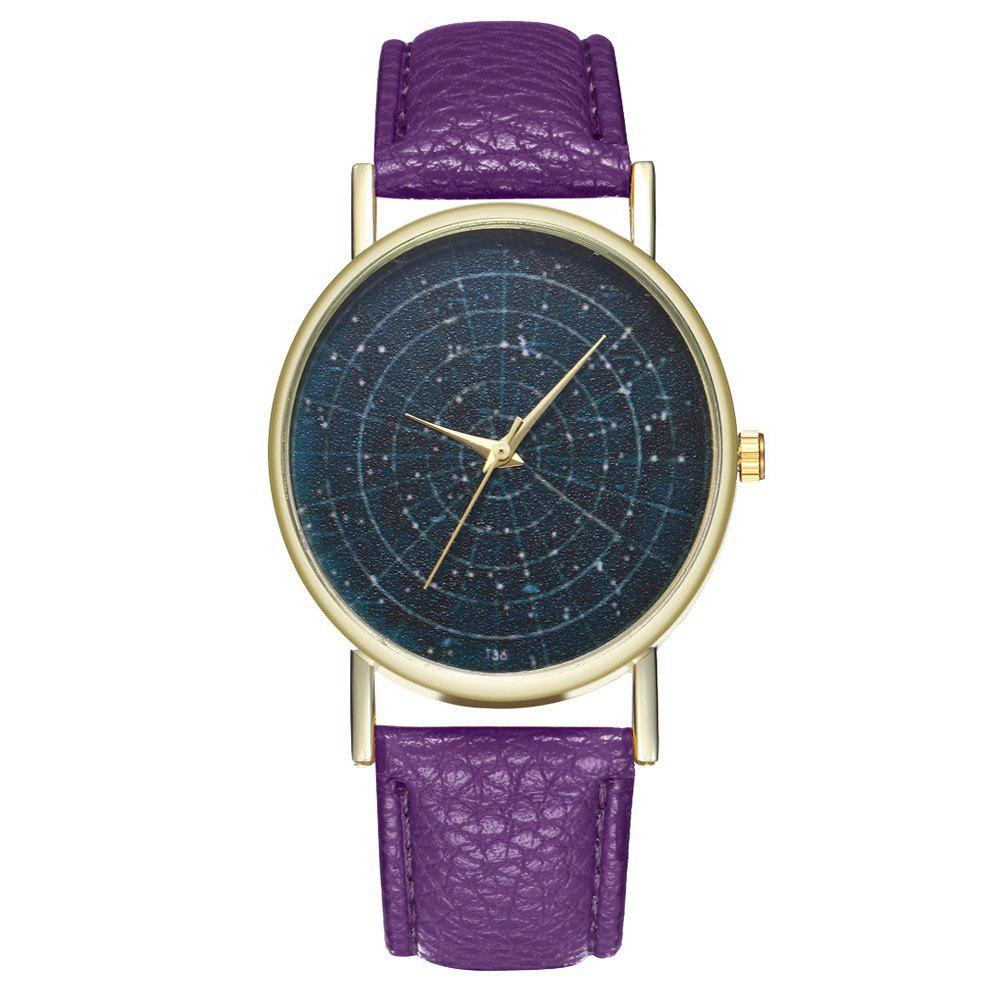 Zhou Lianfa Brand Astrology Male and Female Watch - VIOLET