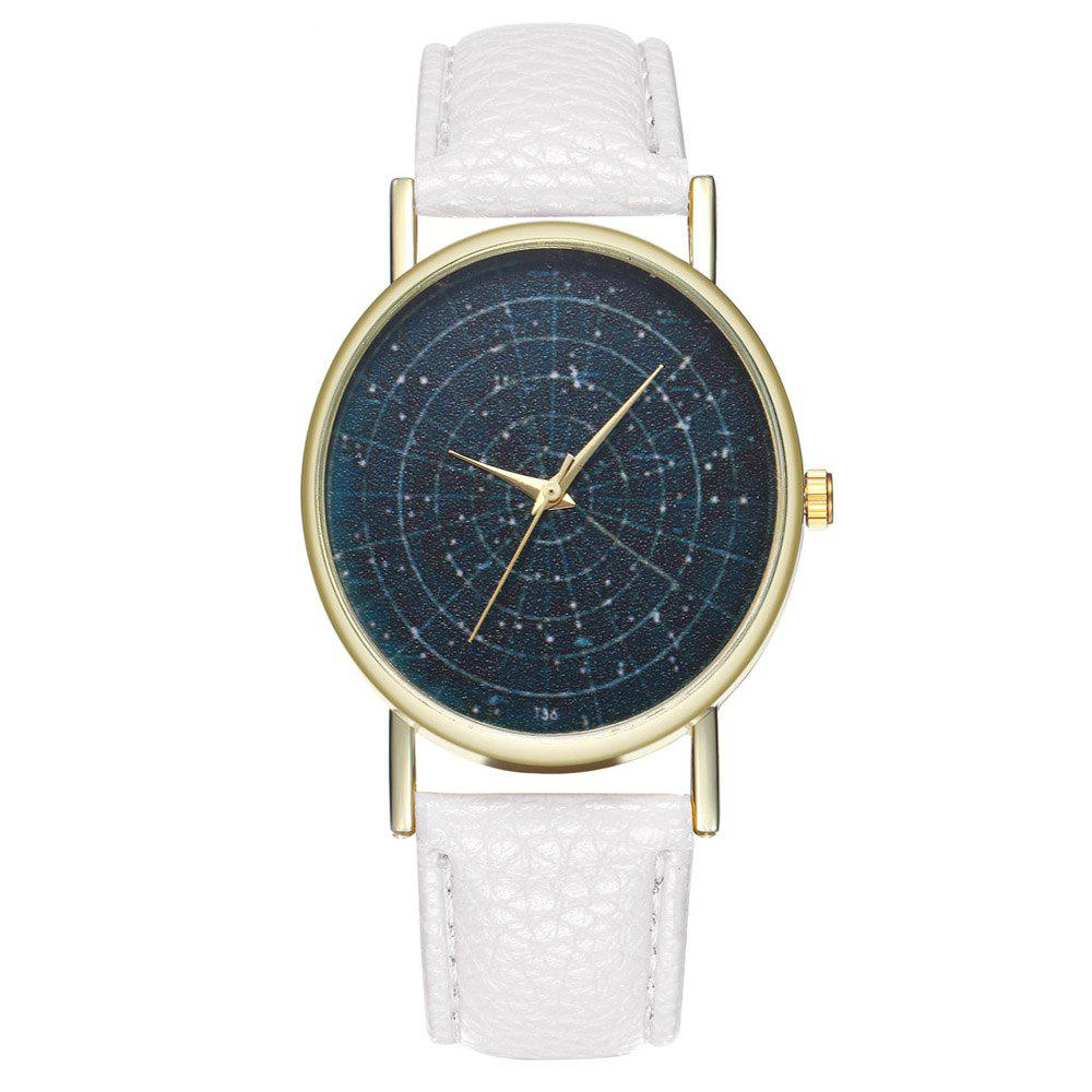 Zhou Lianfa Brand Astrology Male and Female Watch - WHITE
