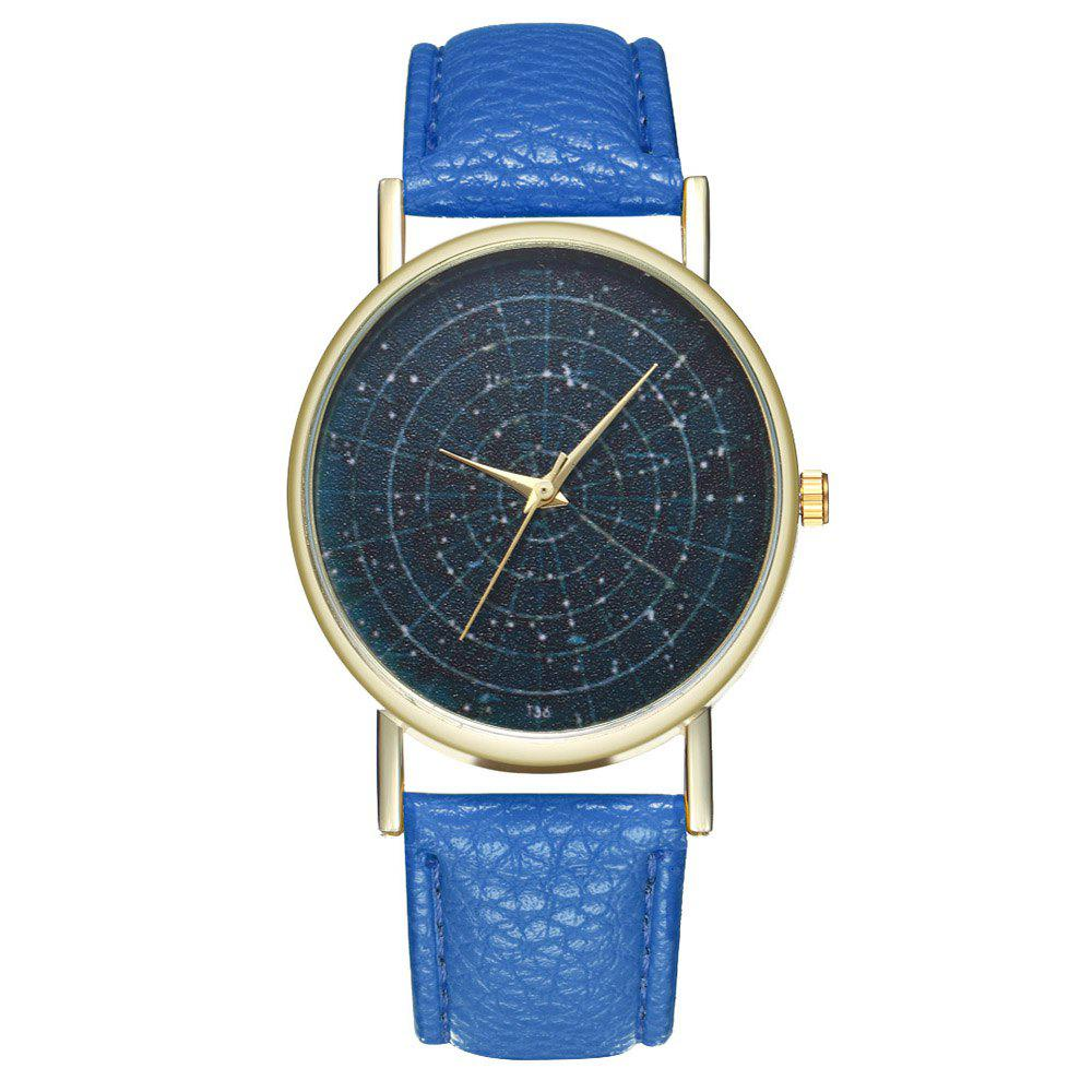 Zhou Lianfa Brand Astrology Male and Female Watch - ROYAL BLUE