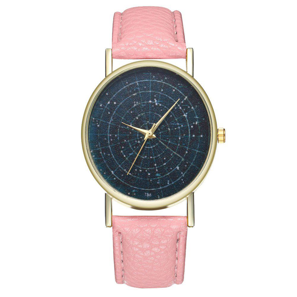 Zhou Lianfa Brand Astrology Male and Female Watch - PINK