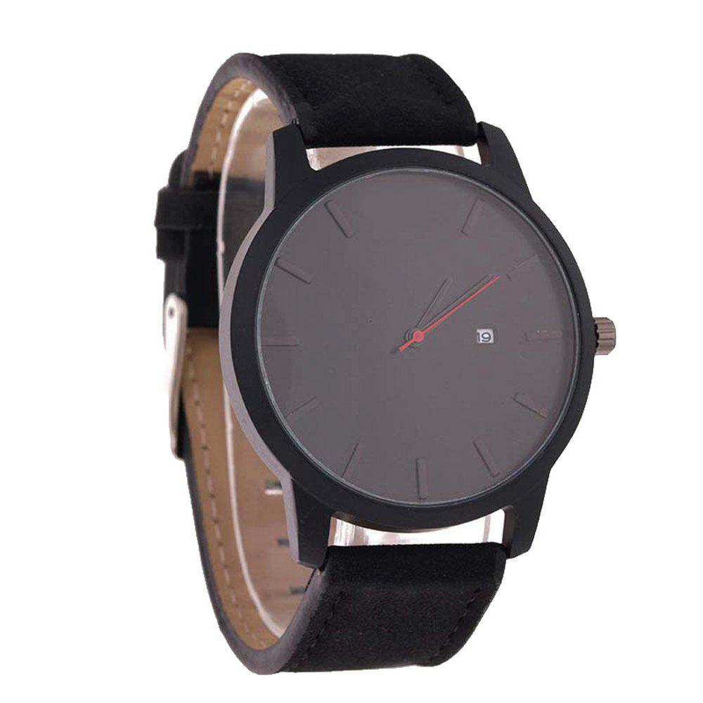 Big Dial Men Calendar Fashion Business Quartz Watch - NIGHT