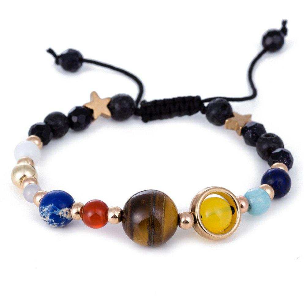 River Solar System Eight Planets Bracelets - BLACK