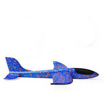 Throwing EPP Foam Airplane Model Outdoor Sports Interesting Toys for Kids - BLUEBERRY BLUE 37CM