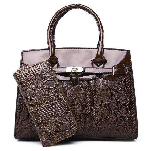 New Fashion Atmosphere Lady's Banquet Bag - BROWN