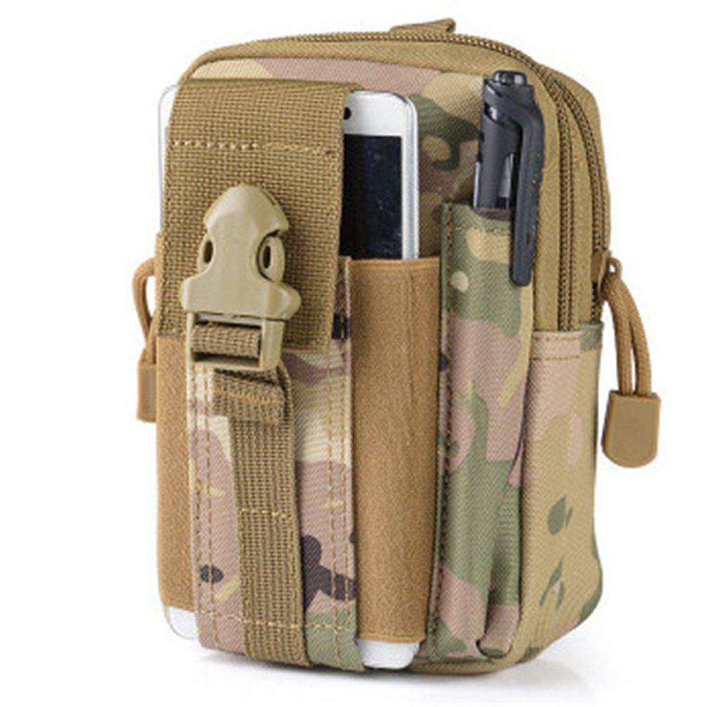Outdoor Sports Multi-Function Fashion Movement Waist Bag - WOODLAND CAMOUFLAGE