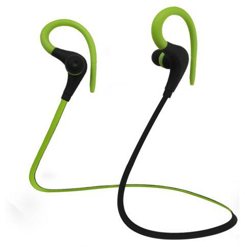 Sport Bluetooth Headset for Wireless Devices Tablets and Digital Products - YELLOW GREEN