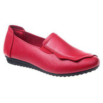 Flat Feet Home Casual Women's Shoes - RED 39