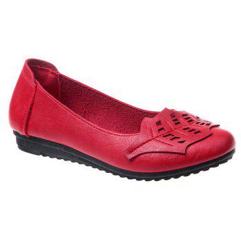 Flat Feet Home Casual Women's Shoes - RED 40
