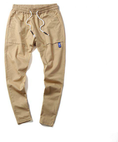 New Youth Leisure Trend Men's Trousers - VANILLA M
