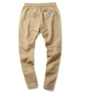 New Youth Leisure Trend Men's Trousers - VANILLA 4XL
