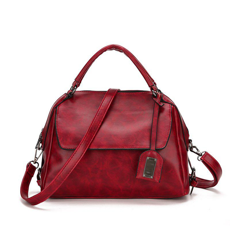 The New Simplicity Bag Women'S Handbag - RED 27 X 13 X 23