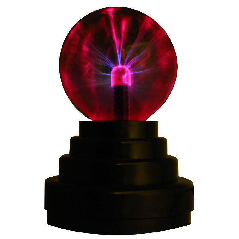 New 3-inch USB Magic Plasma Ball Light - BLACK