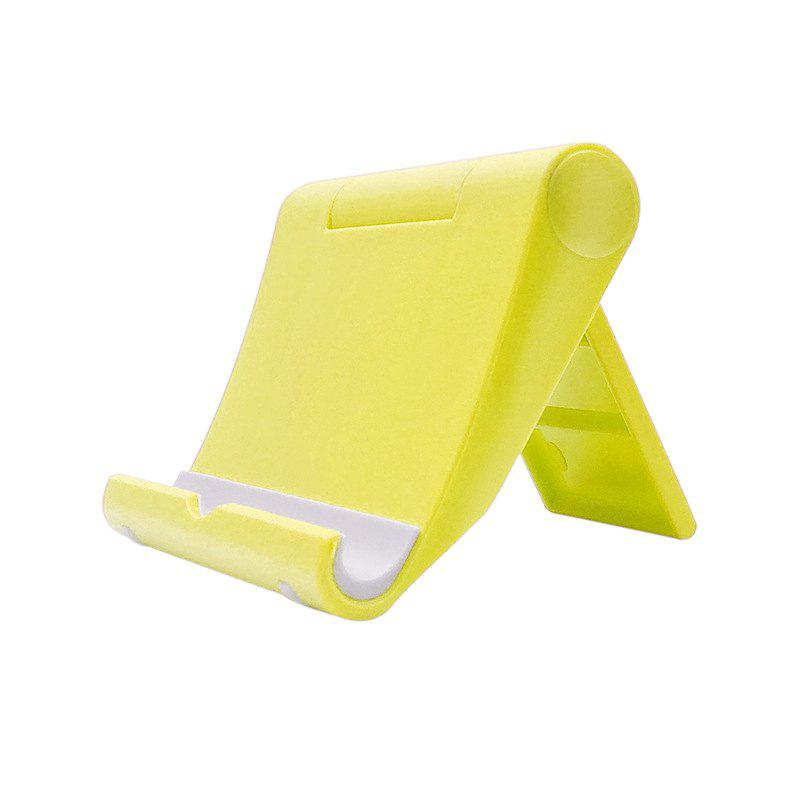 New Universal Desktops Cell Phone Stand - YELLOW