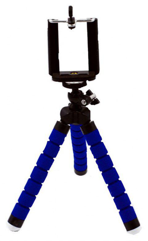 New Mini Tripod Flexible Octopus Holder Stand Mount - BLUE