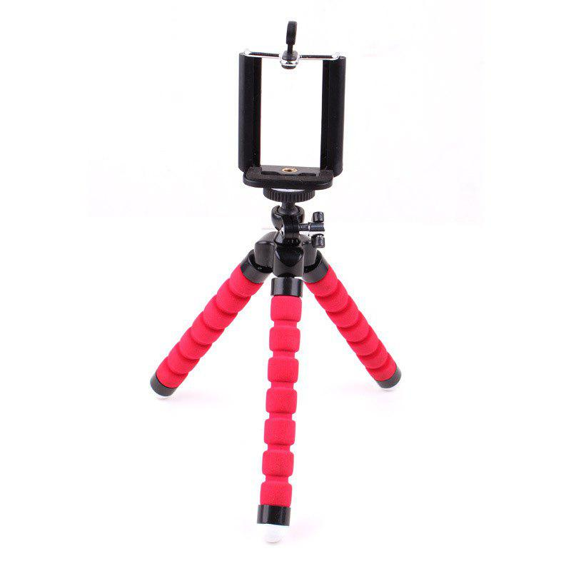 New Mini Tripod Flexible Octopus Holder Stand Mount - RED