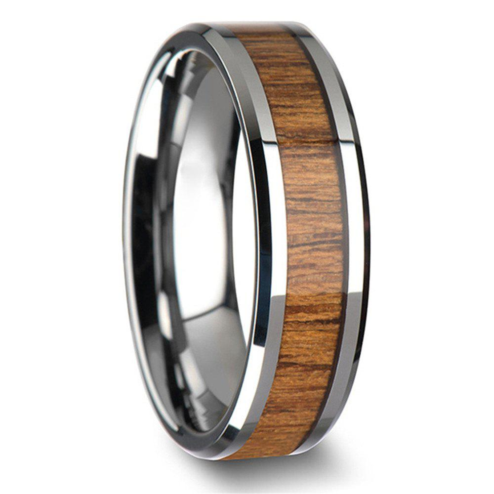 mens teak duality titanium band s and metal wedding men ring rings products wood
