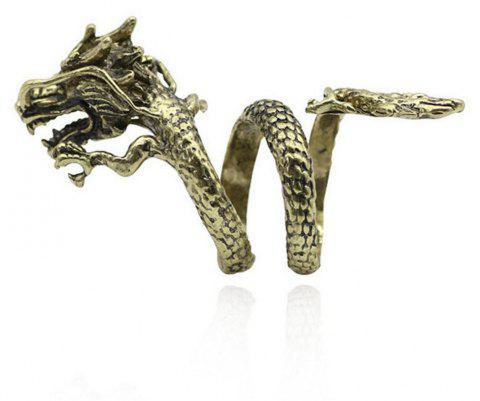 Punk Dragon Claw Devil Ring Men Gothic Domineering Accessories - 008 ONE-SIZE