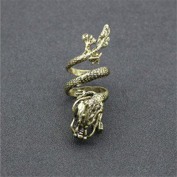 Punk Dragon Claw Devil Ring Men Gothic Domineering Accessories -  ONE-SIZE