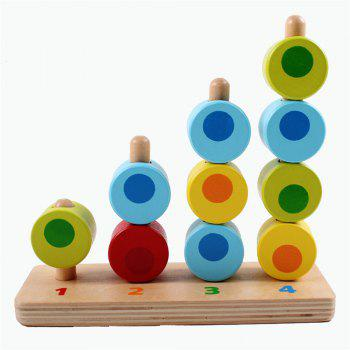 Porous Cognitive Mathematics Paired with Early Childhood Building Blocks - multicolor A