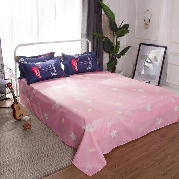 Ensemble de literie South Cloud 4 Pcs Ensemble de literie Soft Flamingo - [