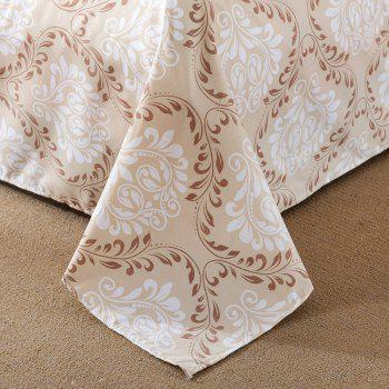 South Cloud 4 Pcs Literie Set Frais Floral moderne à thème Voguish ensemble de draps - [