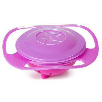 Children Rotate Balance Gyro Flying Saucer Bowl - RED