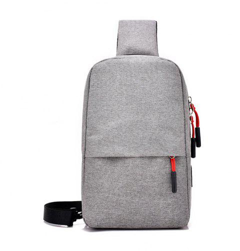 Multi Function Chest Collapsible Canvas Bag - GRAY CLOUD