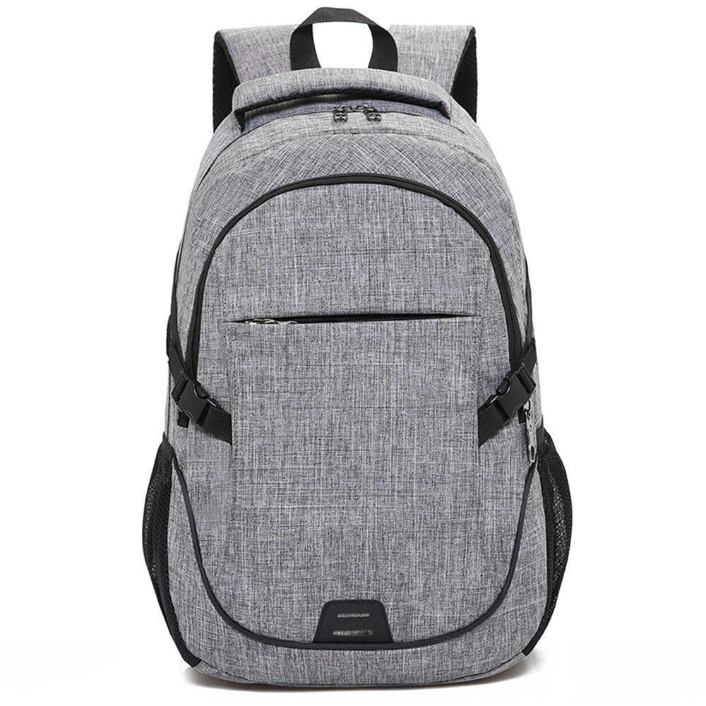 Backpack Large Student Computer Outdoor Bag - GRAY