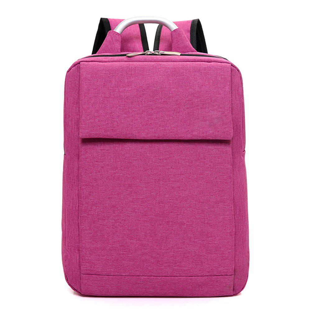 Computer Bag Notebook Student Backpack - VIOLET RED