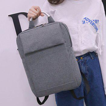 Computer Schoolbag Backpack Sports Bag - GRAY