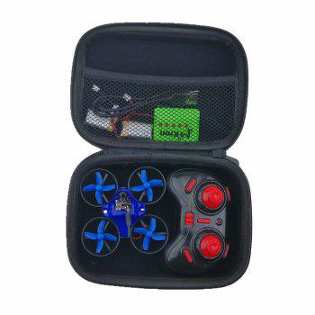 Waterproof Case Quad Box with Foam Liner  for Inductrix FPV Micro Quadcopter JJRC H36 / Eachine E010 / Blade Inductrix - BLACK