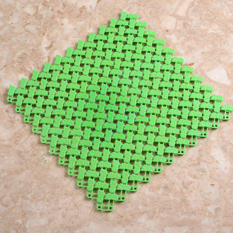 Small Plastic Bathroom Anti-slip Pad - GREEN