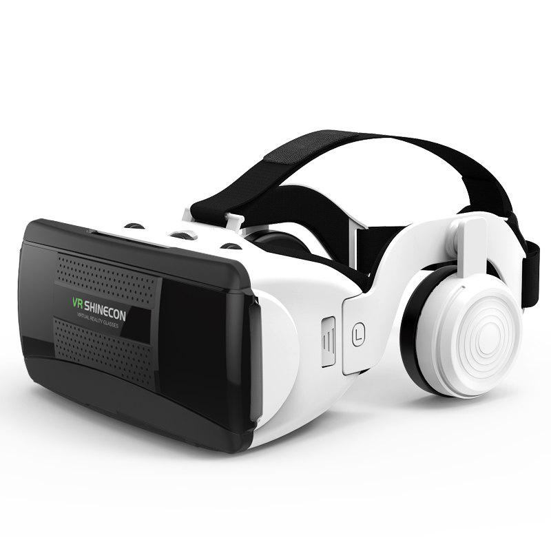 SHINECON New 3D Virtual Reality VR Glasses Come with HiFi Headphone 259282401