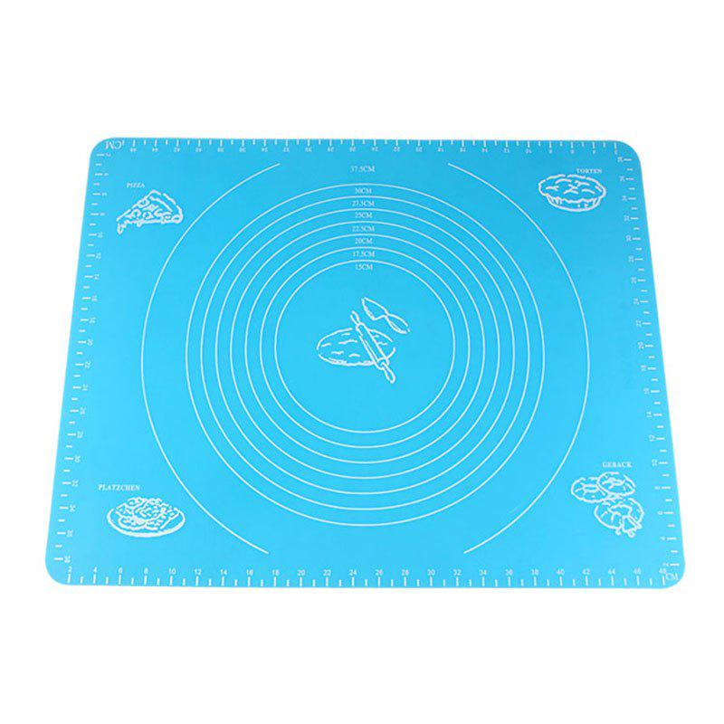 DIHE Large Surface Silicone Pad Easy To Clean and Receive - CORNFLOWER BLUE
