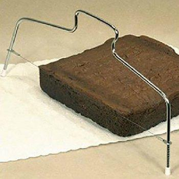 DIHE Bread Cake Two Wires Cut Into Slices Quantizer Baking Tool - GRAY GOOSE
