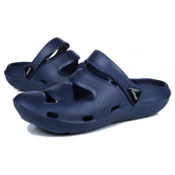 ZEACAVA Summer Men's Casual Sandals Lightweight Garden Shoes - SEA BLUE 41