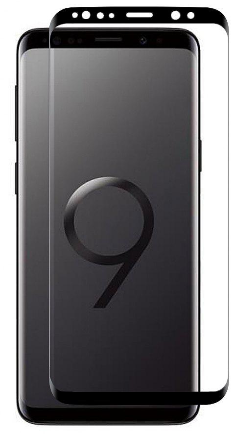 Minismile 3D Ultra-thin 9H Full Screen Explosion-Proof Tempered Glass Film Screen Protector for Samsung Galaxy S9 - BLACK