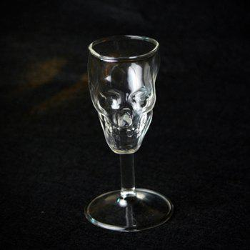 Skull Glass Whisky Cup red Wine Bone Cocktail Vodka - TRANSPARENT