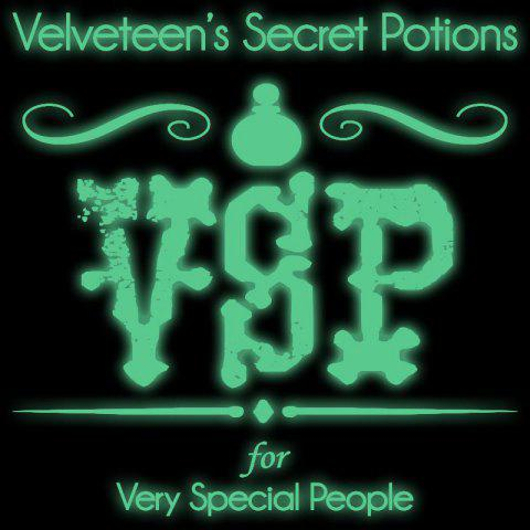 DSU Creative Novelty Velveteen'S Secret Potions Wall Sticker Luminous Switch Sickers Home Decor - GREEN YELLOW 43X60CM