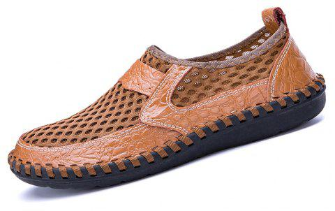 634929deee323d Men Sandals Fashion Summer Leisure Hiking Casual Soft Sport Slippers Beach  Shoes - CAMEL BROWN 39
